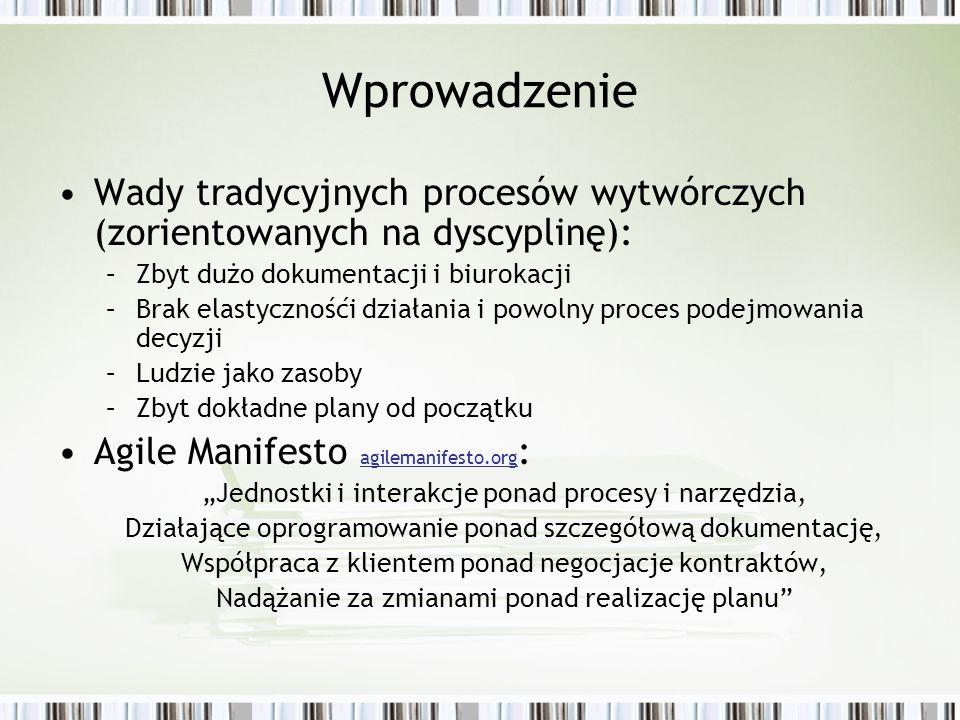 XPrince Twórca - Jerzy Nawrocki z Instytutu Informatyki Politechniki Poznańskiej Politechniki Poznańskiej Łączy najlepsze cechy PRINCE2, RUP oraz XP xprince.net