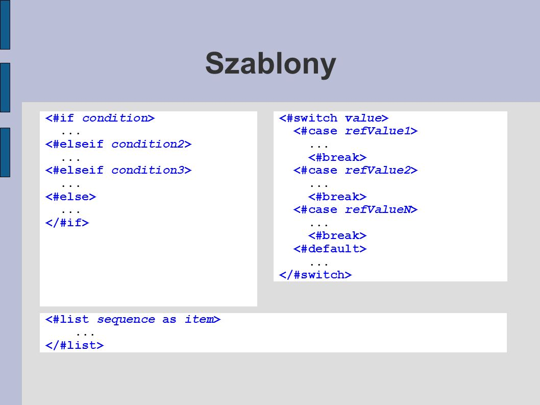 Szablony Test text, and the params: ${foo}, ${bar}, ${baaz} Test text, and the params: a, b, 23 Test text, and the params: a, b, -1 Test text, and the params: a, Bar, 23 Test text, and the params: a, Bar, -1