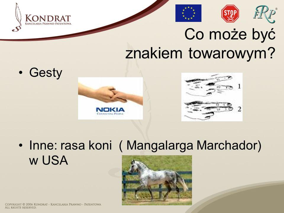 Gesty Inne: rasa koni ( Mangalarga Marchador) w USA Co może być znakiem towarowym?
