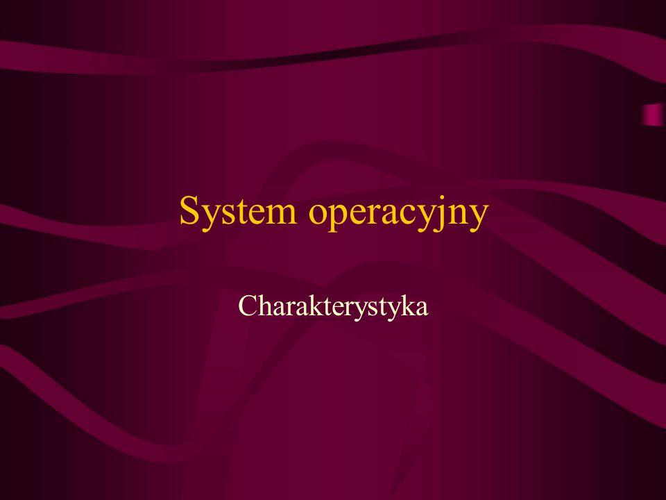 System operacyjny Charakterystyka