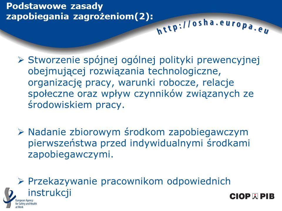 Podstawowe zasady zapobiegania zagrożeniom(2): Stworzenie spójnej ogólnej polityki prewencyjnej obejmującej rozwiązania technologiczne, organizację pr