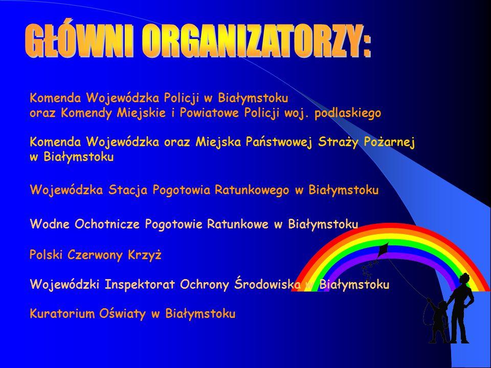 Komenda Wojewódzka Policji w Białymstoku oraz Komendy Miejskie i Powiatowe Policji woj.