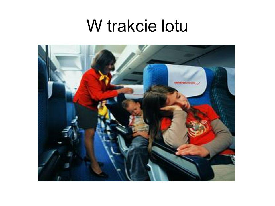 W trakcie lotu