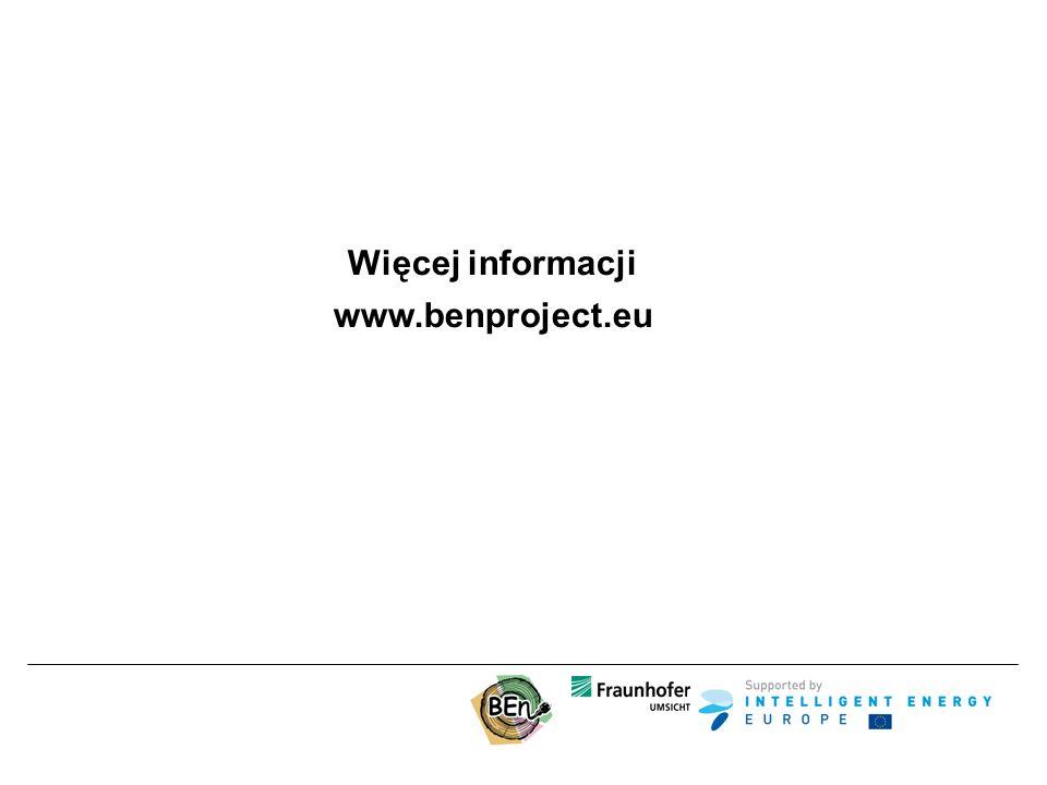 Więcej informacji www.benproject.eu