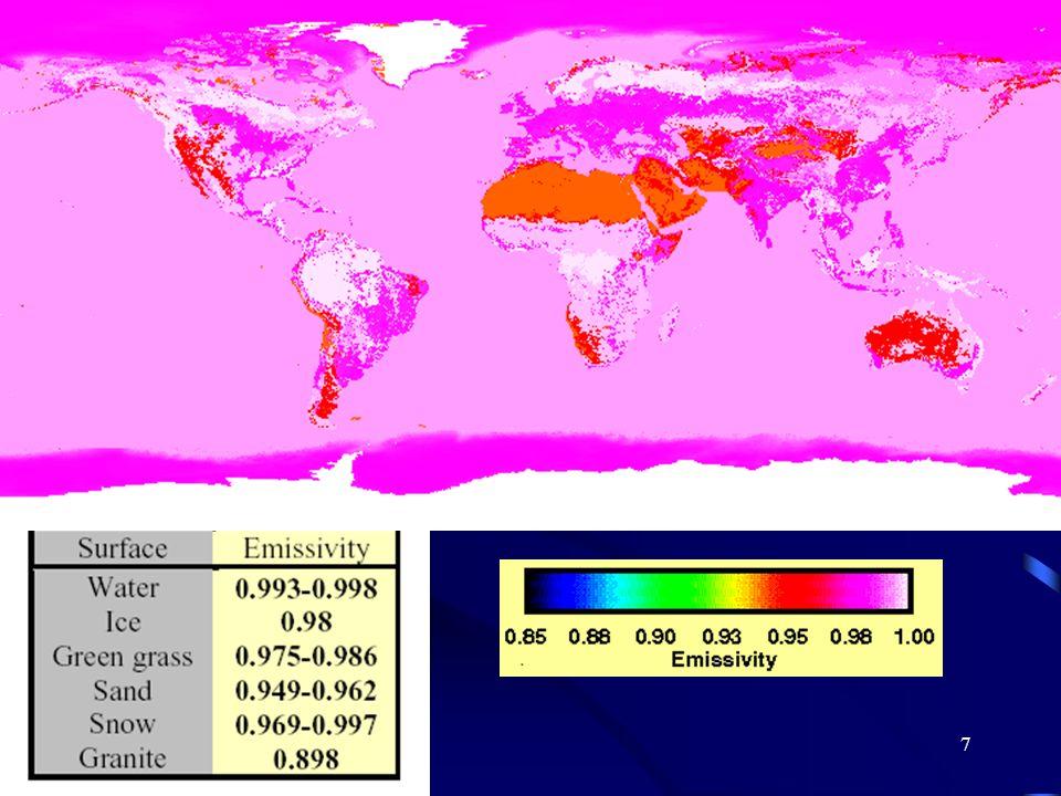 8 Stała słoneczna Określającą strumień promieniowania bezpośredniego Słońca dochodzącego do górnej granicy atmosfery.
