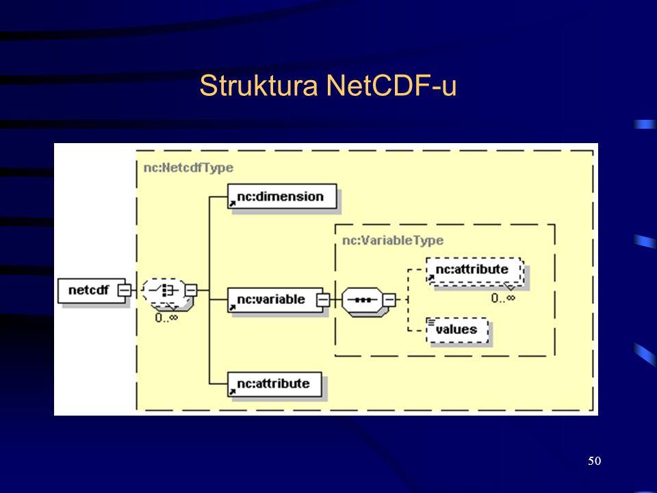 50 Struktura NetCDF-u