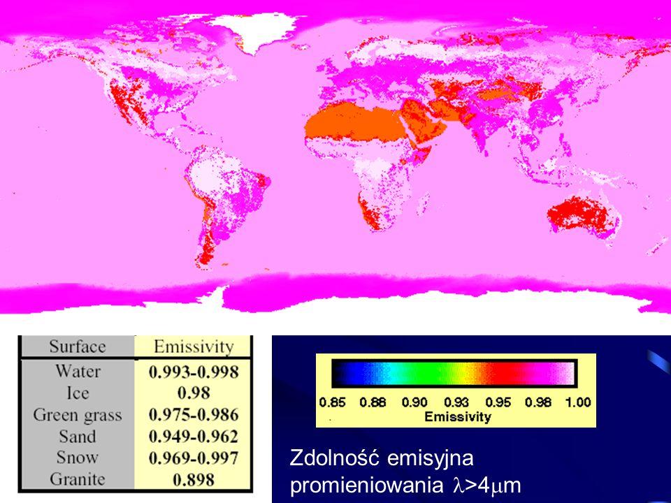 Zdolność emisyjna promieniowania >4 m