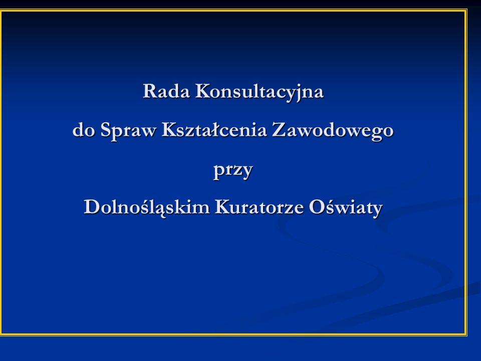Rada Konsultacyjna do Spraw Kształcenia Zawodowego przy Dolnośląskim Kuratorze Oświaty