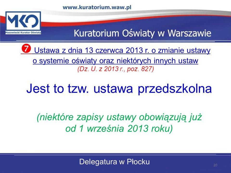 Ustawa z dnia 13 czerwca 2013 r.