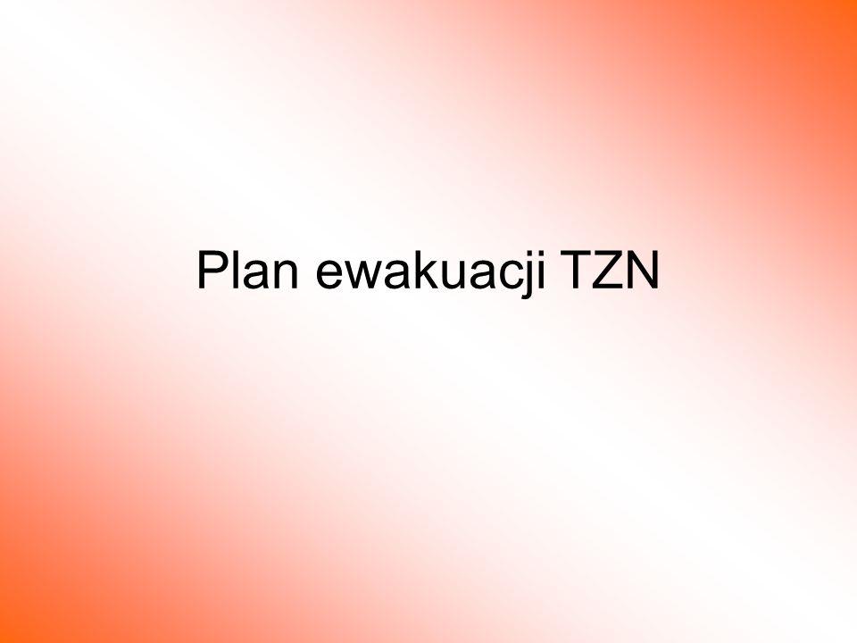 Plan ewakuacji TZN