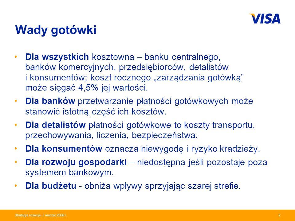 Presentation Identifier.2 Information Classification as Needed 2Strategia rozwoju | marzec 2006 r. Dla wszystkich kosztowna – banku centralnego, bankó