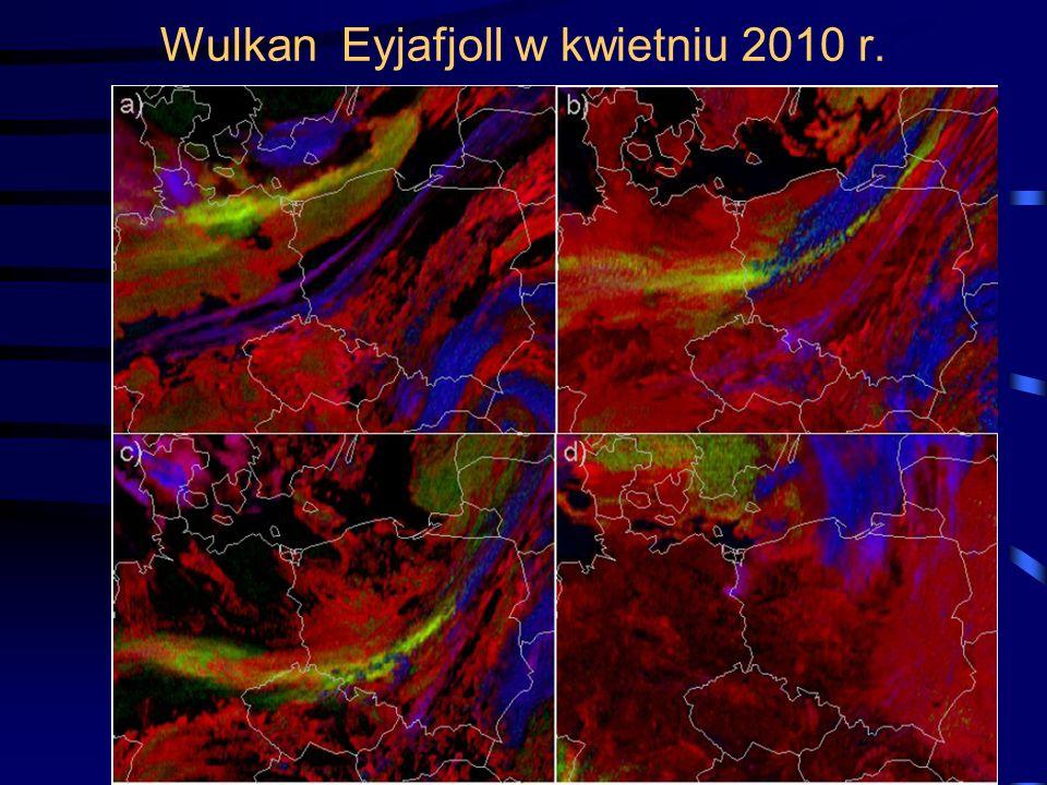 Wulkan Eyjafjoll w kwietniu 2010 r. 18