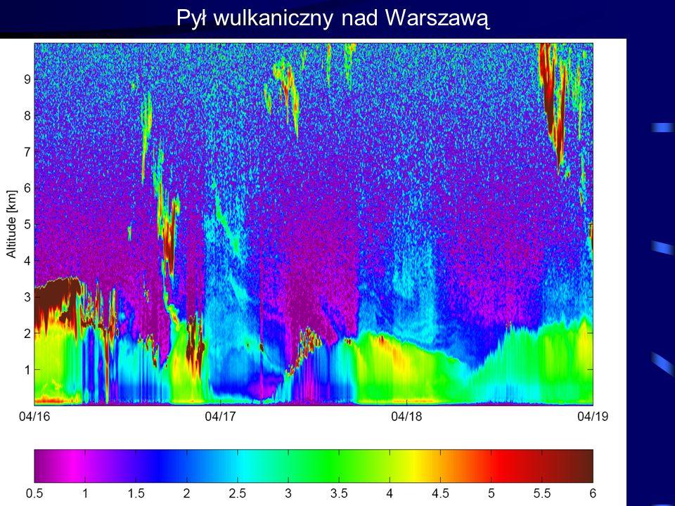 19 Pył wulkaniczny nad Warszawą