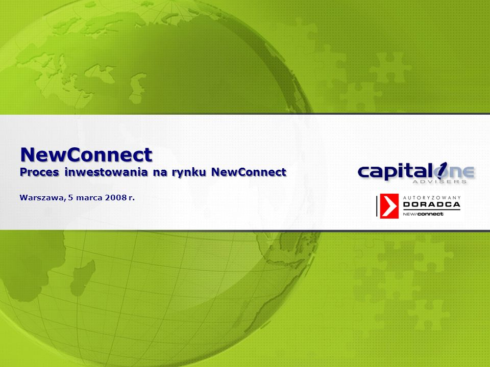 2 2007 © 2008 Capital One Advisers.All Rights Reserved.