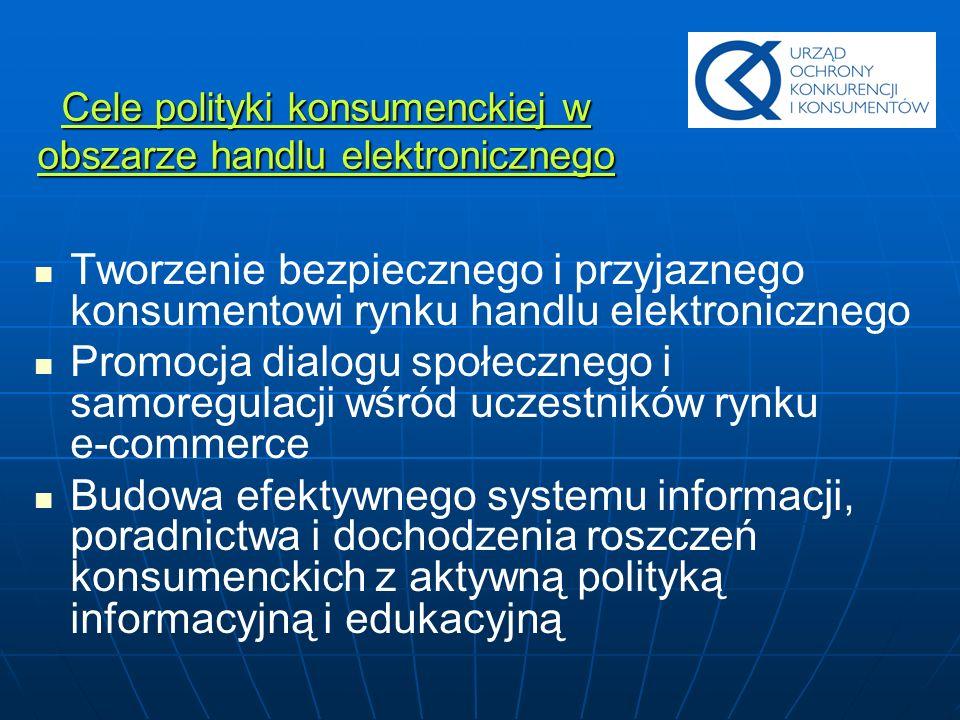 Inicjatywa znak jakości dla handlu elektronicznego Euro-Label Euro-Label europejskim symbolem zaufania w handlu elektronicznym Europejski Kodeks Postępowania Euro-Label zbiorem zasad zakupów internetowych
