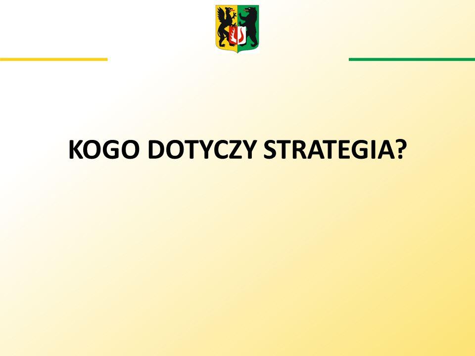 KOGO DOTYCZY STRATEGIA?