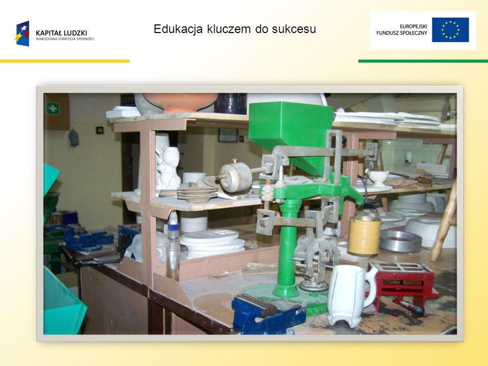 Edukacja kluczem do sukcesu ZAPLECZE Do Waszej dyspozycji oddajemy: bazę dydaktyczną, którą użytkujemy wspólnie z Powiatowym Zespołem Szkół Nr 2 w Kościerzynie.