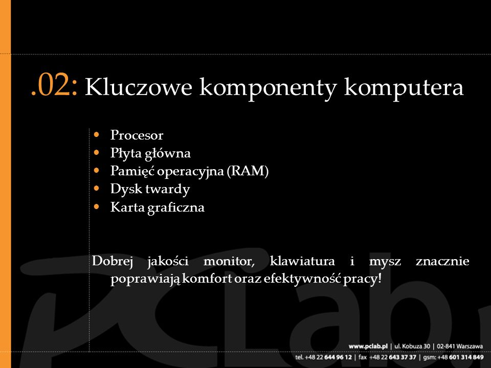 .13: Procesory dwurdzeniowe, c.d.