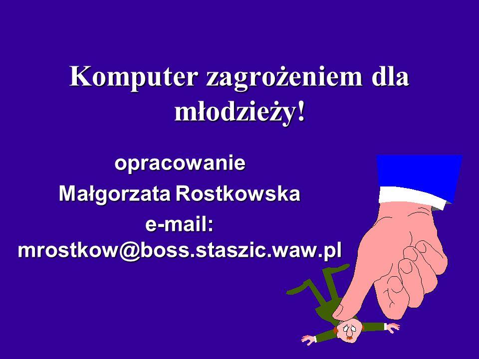 Ośrodek Edukacji Informatycznej i Zastosowań Komputerów 02-026 Warszawa, ul. Raszyńska 8/10 Internet: www.oeiizk.waw.pl
