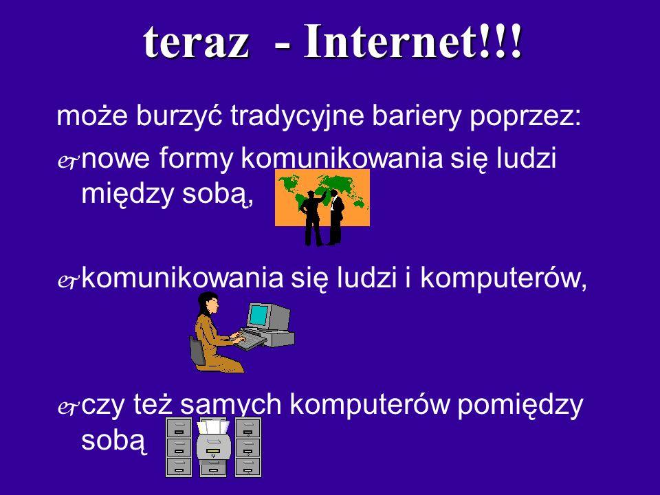 teraz - Internet!!.