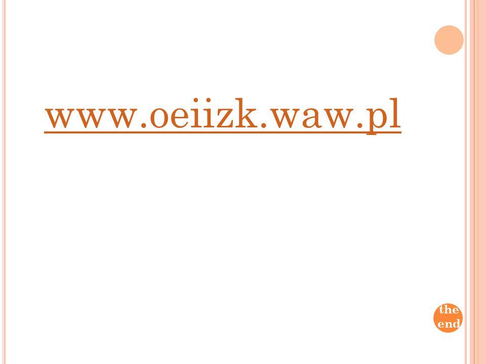 www.oeiizk.waw.pl the end