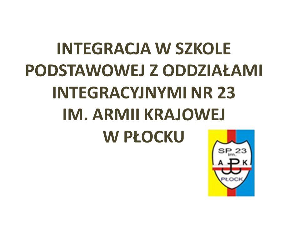 Wspólnie obchodzimy święta i uroczystości Szkoła Podstawowa z Oddziałami Integracyjnymi nr 23 w Płocku