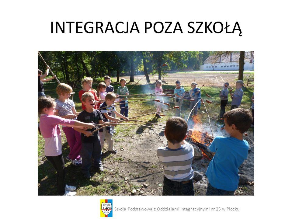 INTEGRACJA POZA SZKOŁĄ Szkoła Podstawowa z Oddziałami Integracyjnymi nr 23 w Płocku