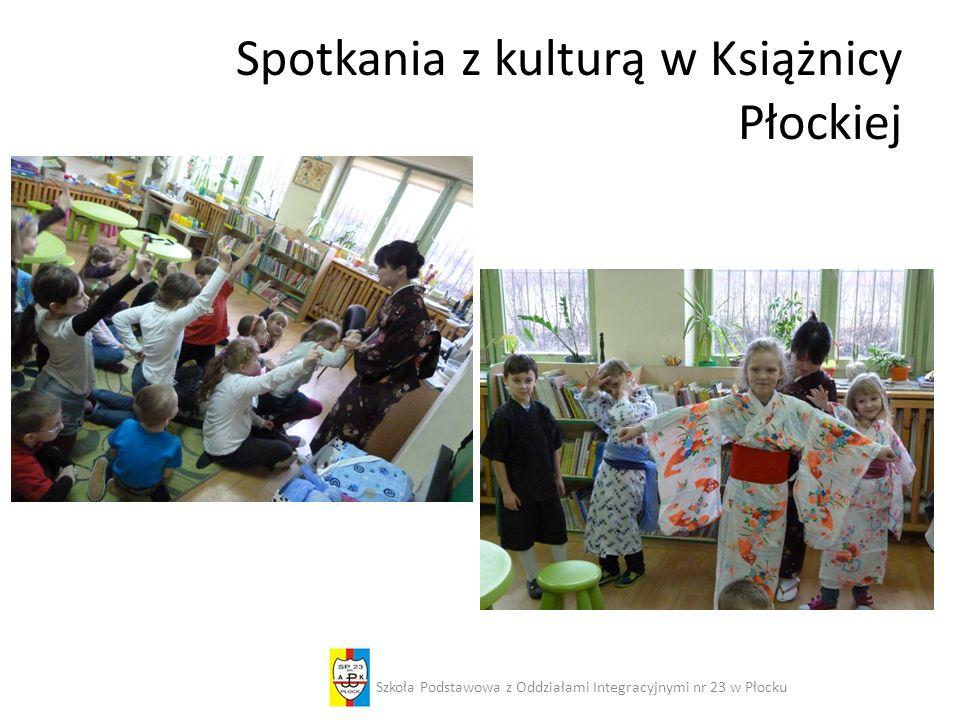 Spotkania z kulturą w Książnicy Płockiej Szkoła Podstawowa z Oddziałami Integracyjnymi nr 23 w Płocku