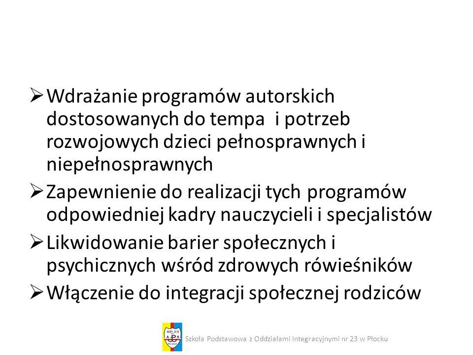Zajęcia w HAPPY C(L)UBIE Szkoła Podstawowa z Oddziałami Integracyjnymi nr 23 w Płocku