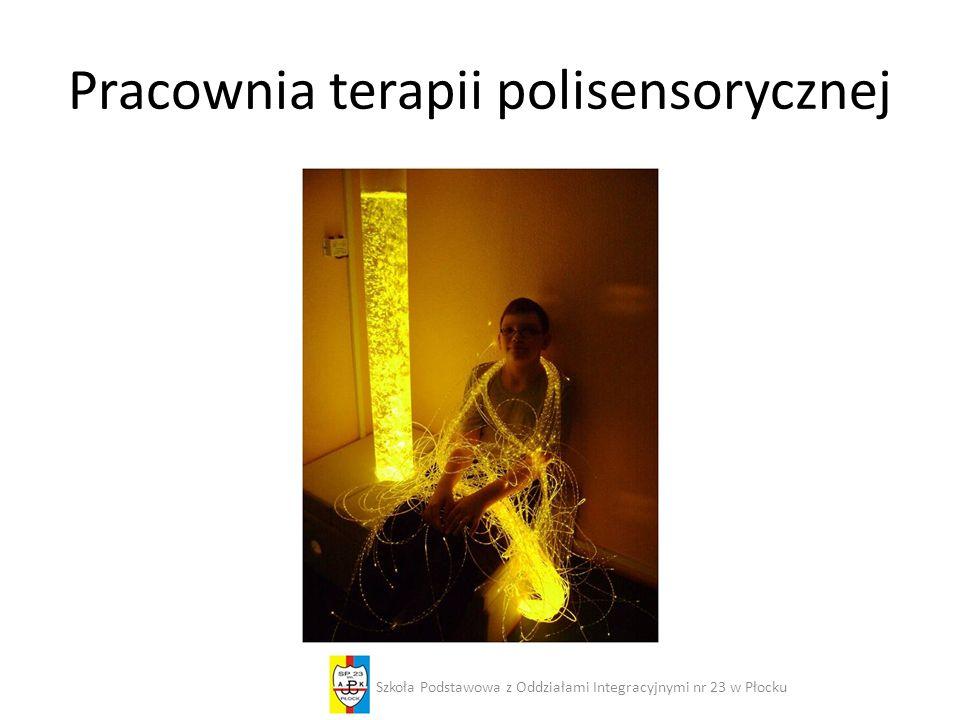 Pracownia terapii polisensorycznej Szkoła Podstawowa z Oddziałami Integracyjnymi nr 23 w Płocku