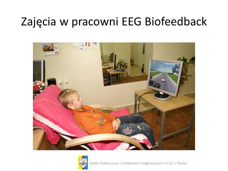 Zajęcia w pracowni EEG Biofeedback Szkoła Podstawowa z Oddziałami Integracyjnymi nr 23 w Płocku
