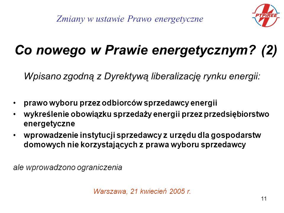 11 Warszawa, 21 kwiecień 2005 r.