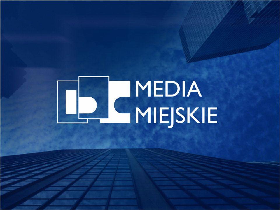 Media Miejskie to obecny w mieście, zintegrowany system reklamy zewnętrznej, obejmujący reklamę na: środkach komunikacji miejskiej panelach citylight (CLP) tablicach billboardowych siatkach wielkoformatowych samochodach osobowych taksówkach
