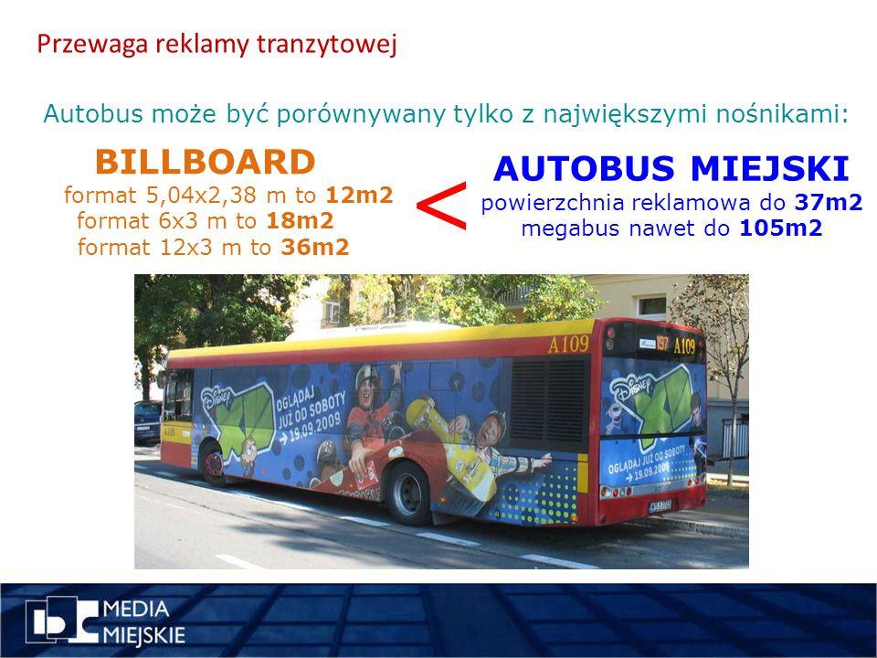 Formaty reklamy na autobusach miejsce pomysł