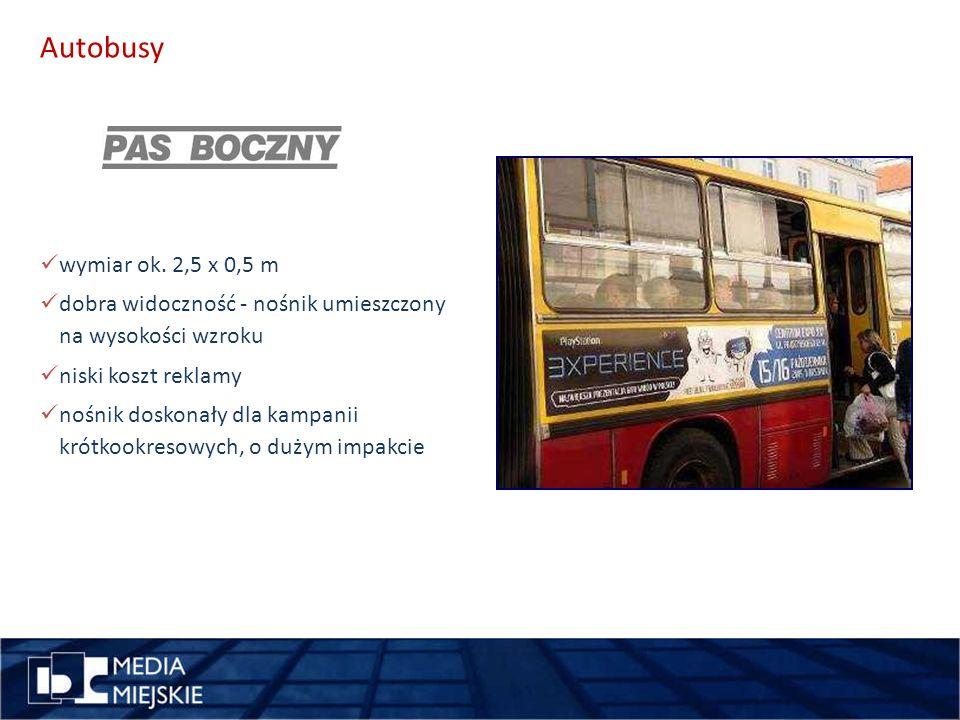 Autobusy wykorzystaj długość pomysł wymiar ok.