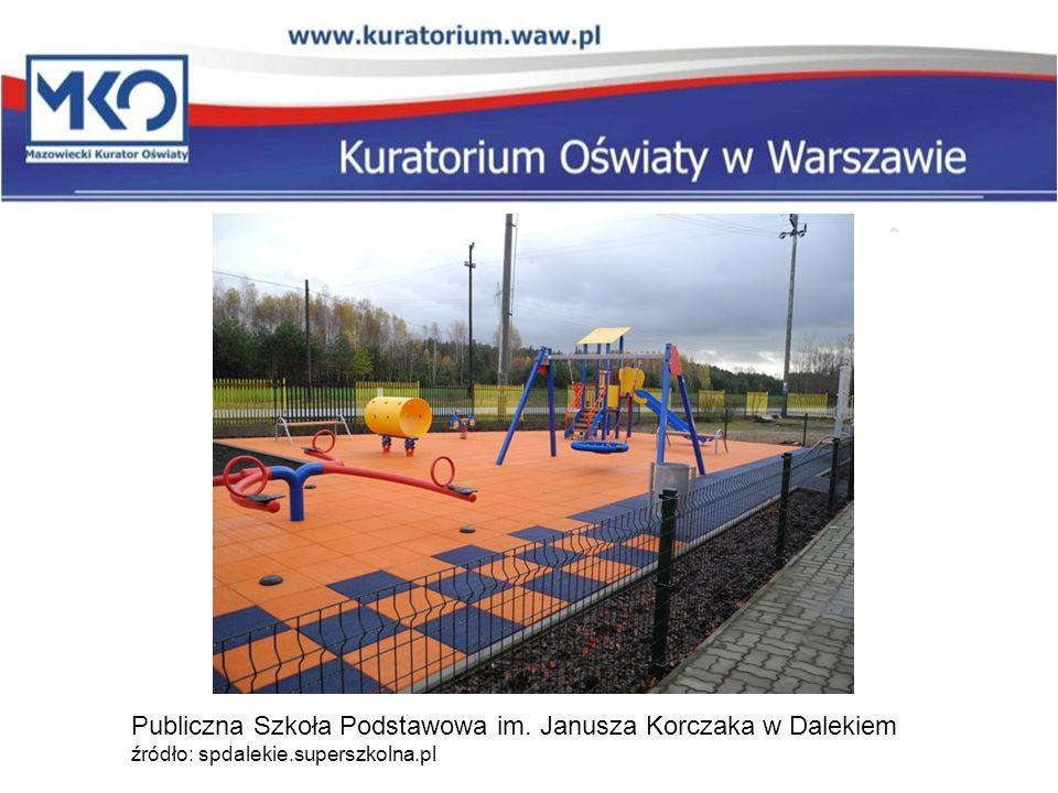 Publiczna Szkoła Podstawowa im. Janusza Korczaka w Dalekiem źródło: spdalekie.superszkolna.pl