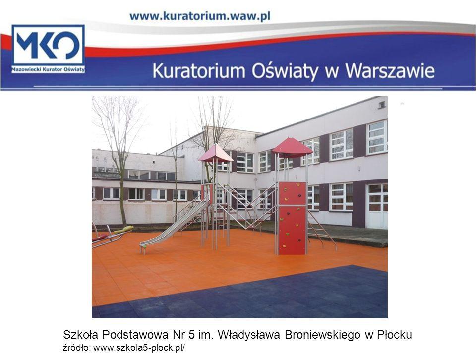 Szkoła Podstawowa Nr 5 im. Władysława Broniewskiego w Płocku źródło: www.szkola5-plock.pl/