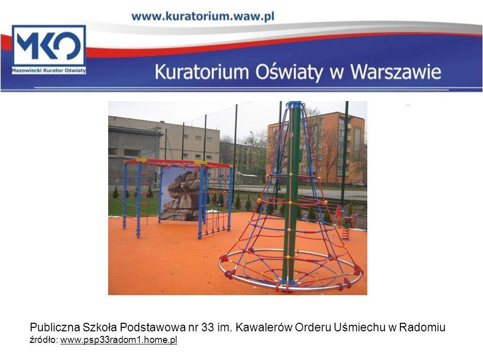 Publiczna Szkoła Podstawowa nr 33 im. Kawalerów Orderu Uśmiechu w Radomiu źródło: www.psp33radom1.home.pl