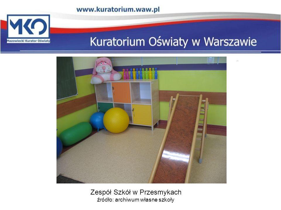 Zespół Szkół w Przesmykach źródło: archiwum własne szkoły
