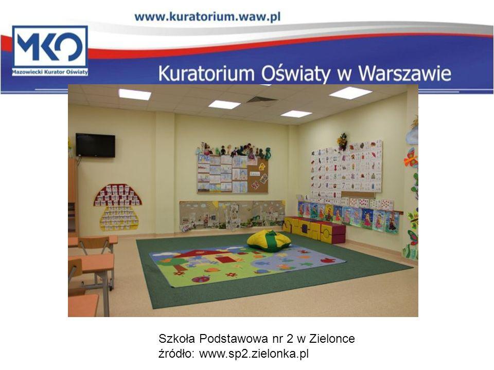 Szkoła Podstawowa nr 2 w Zielonce źródło: www.sp2.zielonka.pl