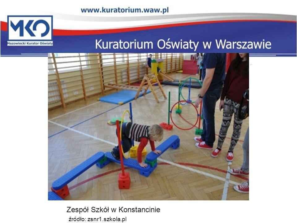 Zespół Szkół w Konstancinie źródło: zsnr1.szkola.pl