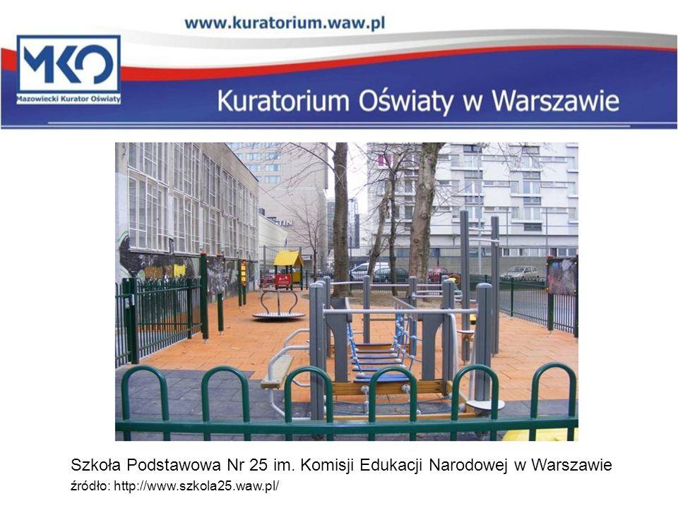 Szkoła Podstawowa Nr 25 im. Komisji Edukacji Narodowej w Warszawie źródło: http://www.szkola25.waw.pl/