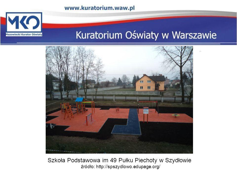 Szkoła Podstawowa im 49 Pułku Piechoty w Szydłowie źródło: http://spszydlowo.edupage.org/