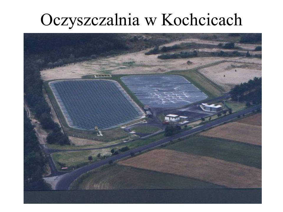 Oczyszczalnia w Kochcicach