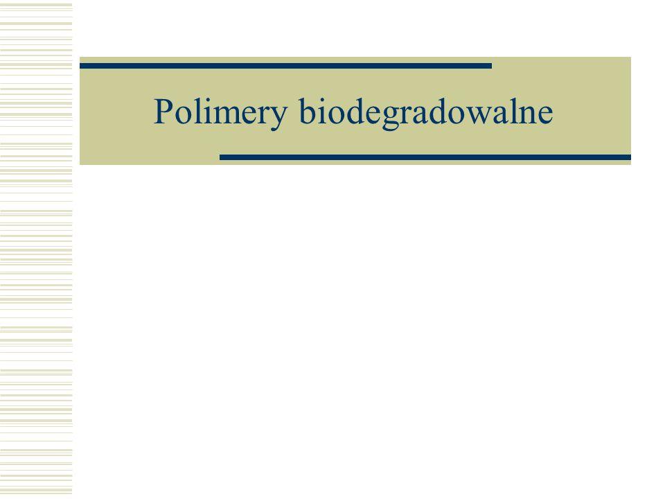Polimery biodegradowalne