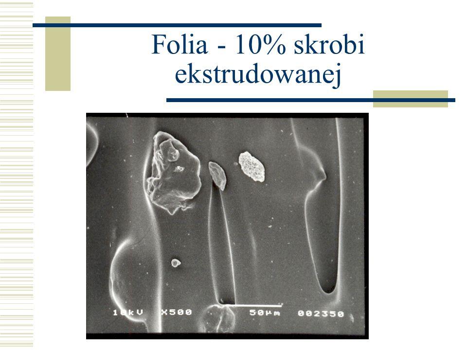 Folia - 10% skrobi ekstrudowanej
