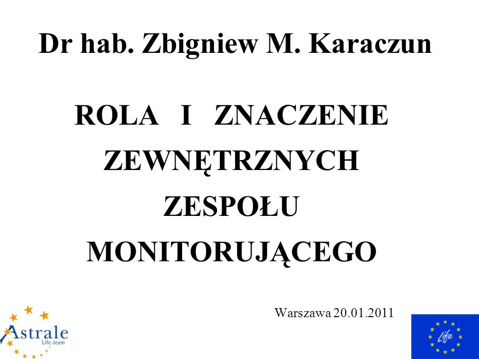 Dr hab. Zbigniew M.