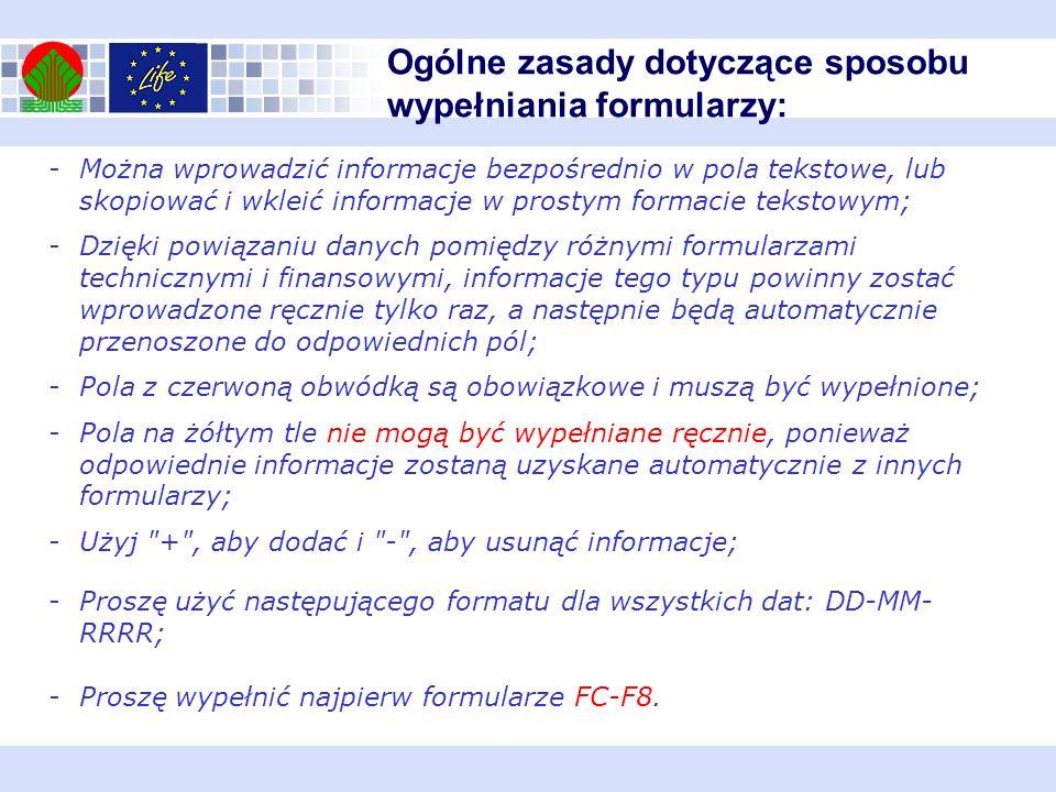 Formularz F3 Wsparcie zewnętrzne Procedura - należy określić przewidywaną procedurę zlecenia prac innym podmiotom, przykładowo: przetarg publiczny, zamówienie z wolnej ręki, dialog konkurencyjny.