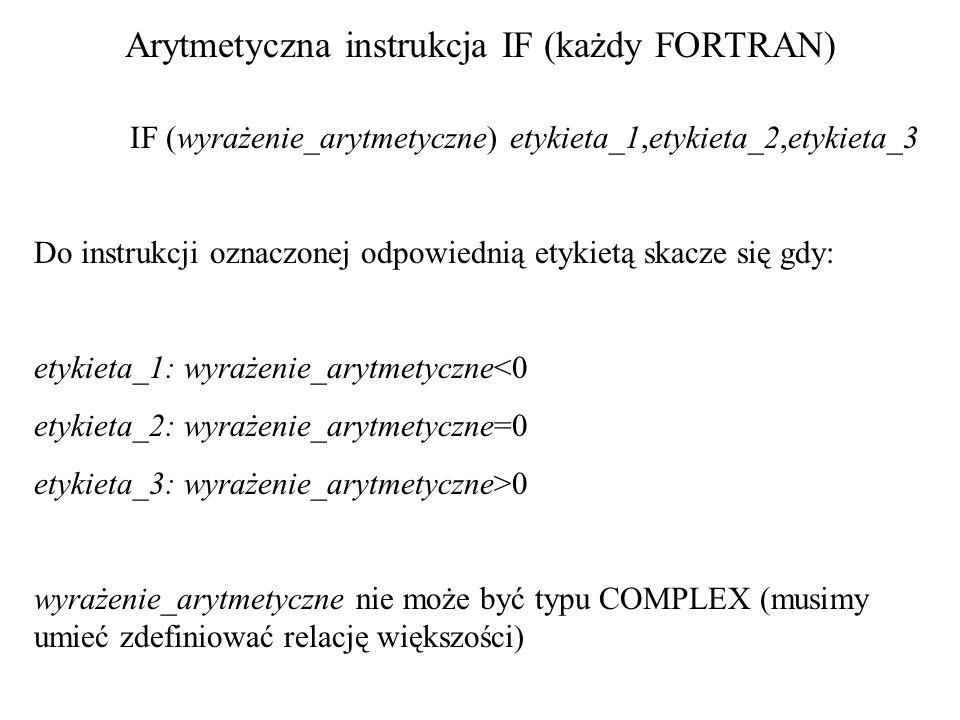 Instrukcja pętli z warunkiem DO WHILE (wyrażenie_logiczne) instrukcja_1 instrukcja_2 …………..