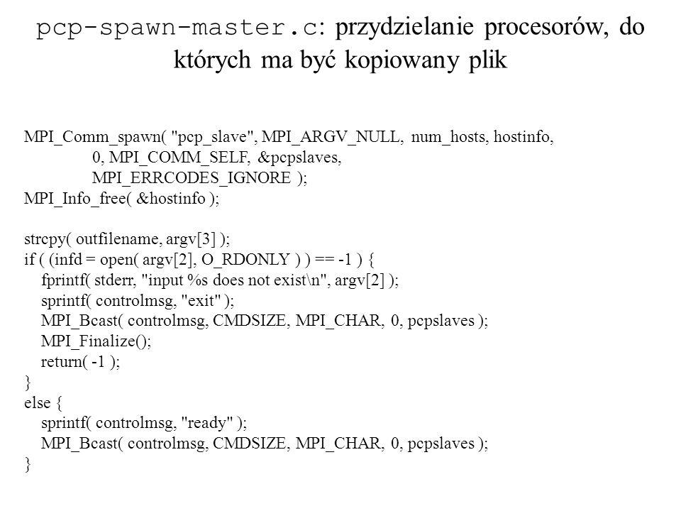 MPI_Comm_spawn(